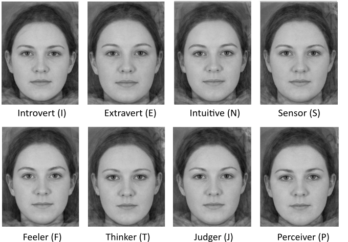 face personality attractiveness female