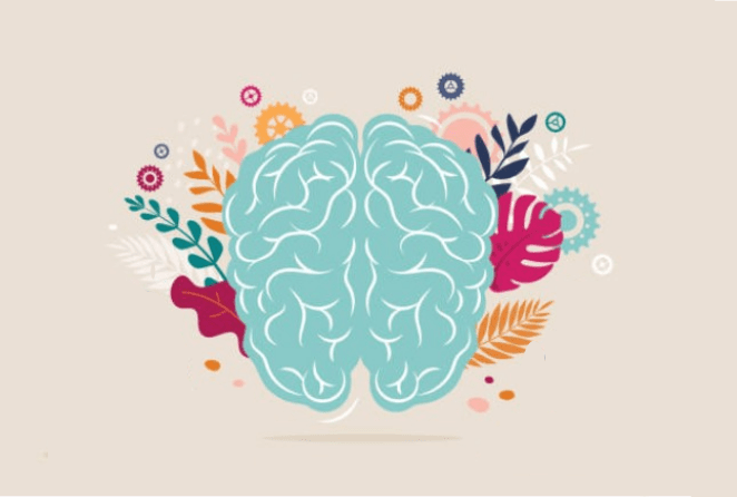 Decorative Brain Image