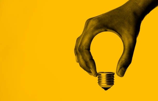 Inspiration: Lightbulb in Hand